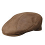 Stetson - Distressed Leather Ivy Cap in Brown