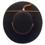 Jeanne Simmons - Wool Felt Bolero Hat w/ Chin Chord - Top