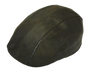 Henschel - Faux Leather 6 Panel Driver Cap in Brown- Full