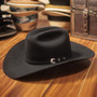 "Bullhide Hats by Montecarlo - 10X ""True"" Beaver Felt Black Cowboy Hat (Stock Image 1)"