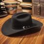 "Bullhide Hats by Montecarlo - 10X ""True"" Beaver Felt Black Cowboy Hat (Stock Image 1)"