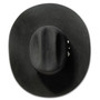 "Bullhide Hats by Montecarlo - 10X ""True"" Beaver Felt Black Cowboy Hat (Top)"