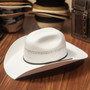 Bullhide Hats by Montecarlo - 10X White Gold Straw Cattleman Cowboy Hat (Stock Image)