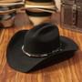 "Bullhide Hats by Montecarlo - ""Buckaroo"" Barbed Wire 6X Wool Felt Cowboy Hat (Stock Image 1)"