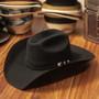 "Bullhide Hats by Montecarlo - 8X ""Legacy"" Wool Felt Black Cowboy Hat (Stock Image 1)"