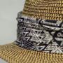 Saint Martin - Tweed Resort Hat (Hat Band)