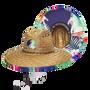 Peter Grimm - Flamingo Straw Lifeguard Hat
