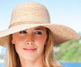 Kooringal - Katie Wide Brim Model wearing Natural