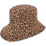 Kooringal - Ladies Reversible Golf Hat in Black - Reverse