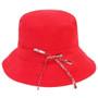 Kooringal - Ladies Reversible Golf Hat in Red - Back