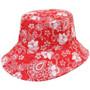 Kooringal - Ladies Reversible Golf Hat in Red - Reverse