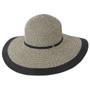 Kooringal - Dahlia Floppy Hat Black