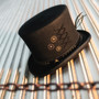 Conner - Steam Punk Top Hat - Stock Image
