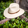 Bigalli - Australian Outback Panama Hat - Stock Image 1