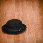 Kenny K - Heisenberg Black Wool Felt Pork Pie Hat - Stock Image