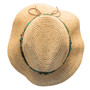 Kooringal - Bora Bora Straw Fedora Hat - Top