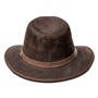 Kooringal - Canungra Leather Safari Hat (Brown) - Back