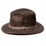 Kooringal - Canungra Leather Safari Hat (Brow) - Side