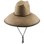 Dorfman Pacific - Palm Lifeguard Straw Sun Hat Coco