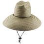 Dorfman Pacific - Palm Lifeguard Straw Sun Hat Natural