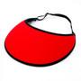 No Headache - Red Active Lite Visor Hat