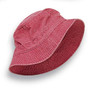 Adams - Nautical Red Vacationer Dyed Bucket Hat