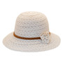 Jeanne Simmons - Poly-Cotton Lace Cloche Hat -