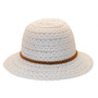 Jeanne Simmons - PPoly-Cotton Lace Cloche Hat - Back