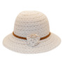 Jeanne Simmons - Poly-Cotton Lace Cloche Hat - Side