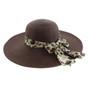 "California Hat Company - 5"" Wide Brim Ladies Hat"