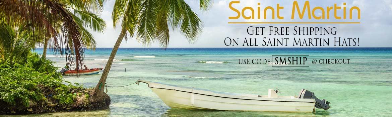 Saint Martin Free Shipping Banner