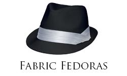 Fabric Fedoras Sub Cat
