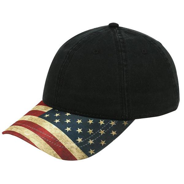 Otto Cap. Otto Cap - Vintage American Flag Baseball Hat 5f4334687098