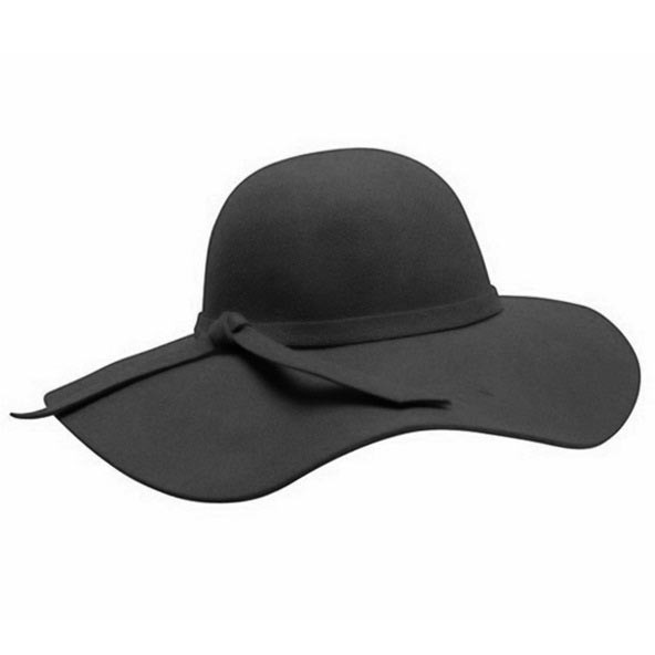 2561e6276 Downtown Style - Wool Felt Floppy Hat