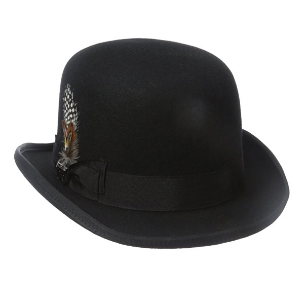 4f784100e23 Dorfman Pacific. Dorfman Pacific - Stacy Adams Classic Bowler Hat