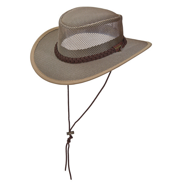 10f7a4e37e0b7a Stetson | Mesh Floating Safari Hat | Hats Unlimited