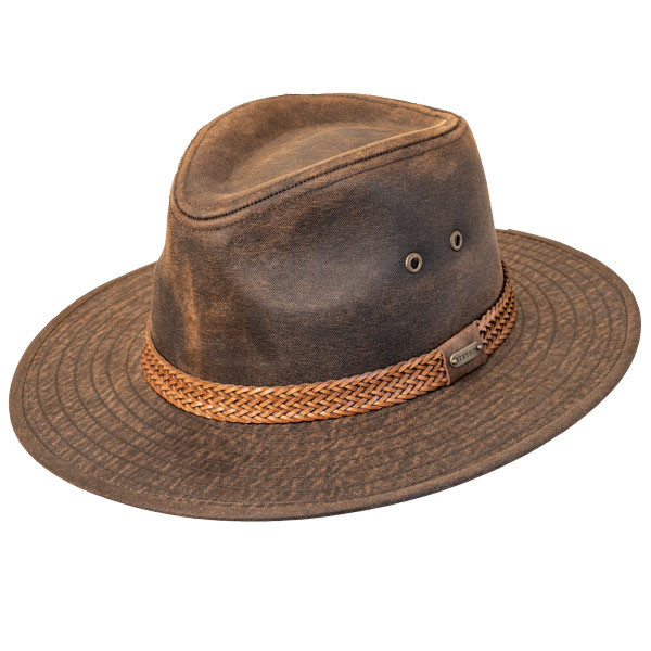 04f77b6cfda1c Stetson - Distressed Outdoor Boonie Hat -