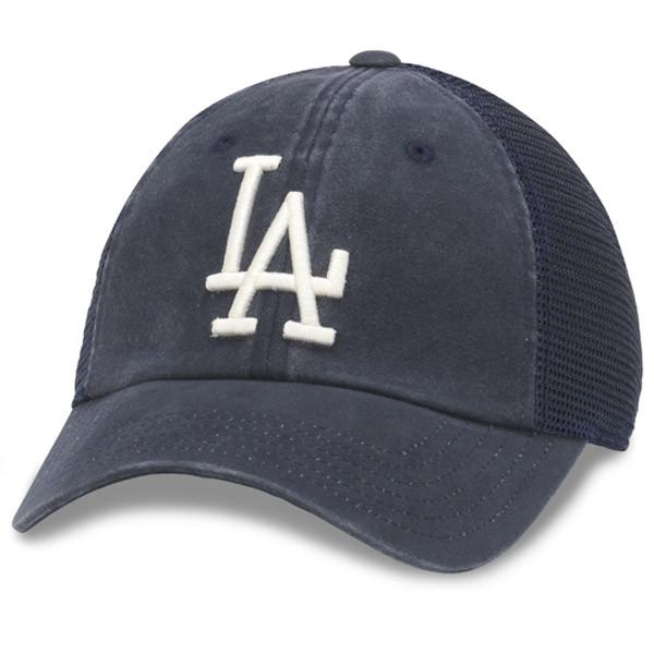 fc2fae6455a American Needle. American Needle - LA Dodgers Distress Mesh Baseball Cap