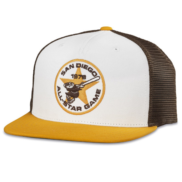 246f04978 American Needle   San Diego Padres Two-Tone Snapback Baseball Cap ...