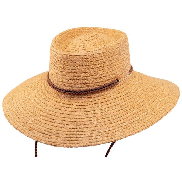 Scala- Braided Raffia Aussie Boater Sun Hat 7afc86a3ba5e