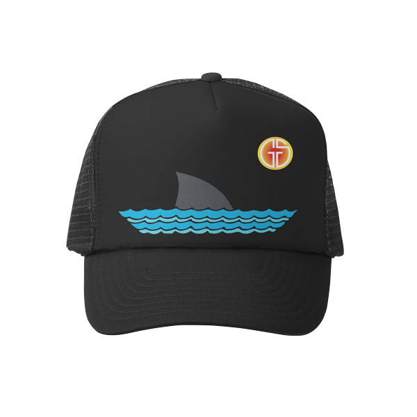 Grom Squad Sharky Toddler Trucker Hat