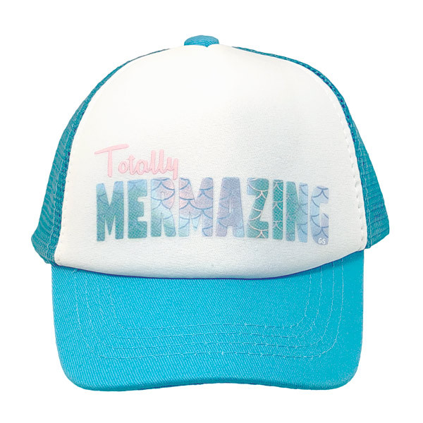 e0e44baf9c6a7 Grom Squad. Grom Squad - Totally Mermazing Toddler Trucker Hat