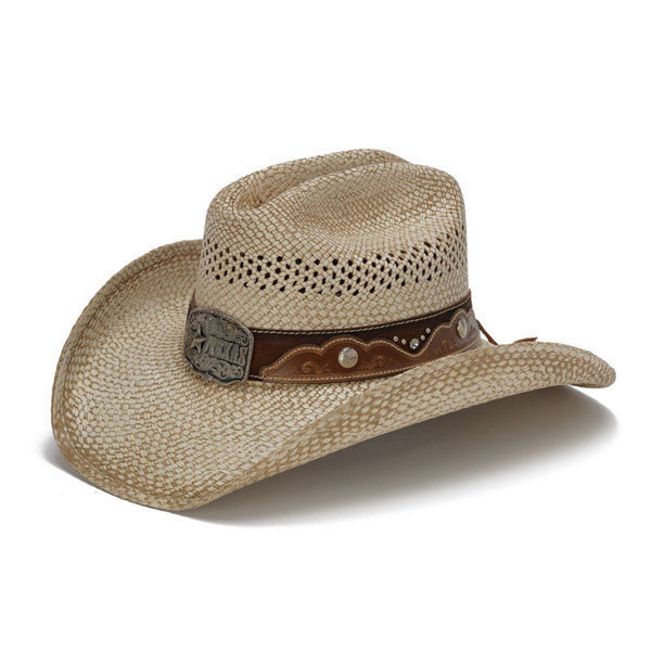 Stampede Hats - Texas Star Rhinestone Cowboy Hat - Front Angle 5ed3db5132bc