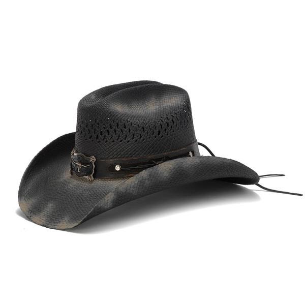 c3ec0051484b3c Stampede Hats | Black Longhorn Cowboy Hat | Hats Unlimited