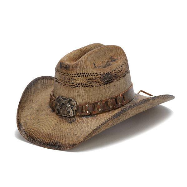 db245cc849bda Stampede Hats - WANTED Cowboy Hat - Front Angle