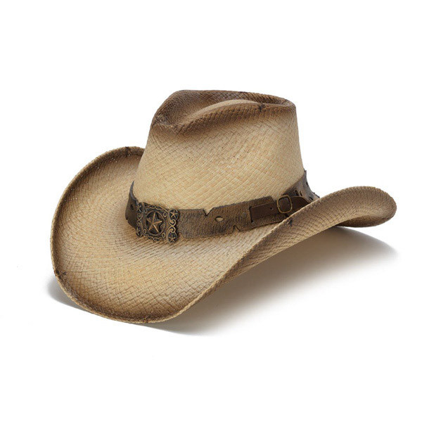 Stampede Hats - Antique Lone Star Distressed Cowboy Hat - Front Angle ef41e91102f