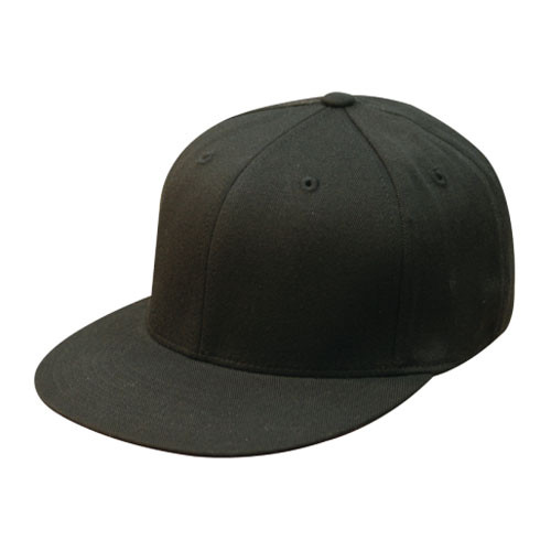e518c9687ccd13 Flexfit | Black Premium Fitted 210 Cap | Hats Unlimited