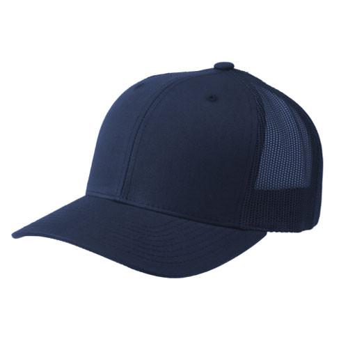 d9d3b62d1ea28 Flexfit Hats. Flexfit - Navy Retro Snapback Trucker Cap