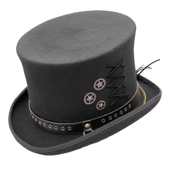 7a6d23cf592a36 Conner | Steam Punk Top Hat | Hats Unlimited