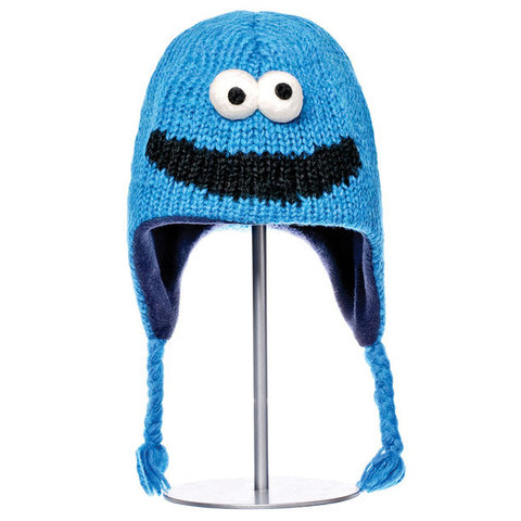 caace753621 KnitWits. Knitwits - Sesame Street Cookie Monster Hat